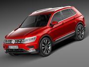 Volkswagen Tiguan 2017 3d model
