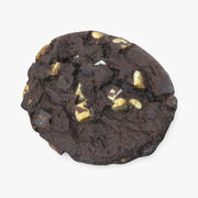 Triple Chocolate Cookie 3d model