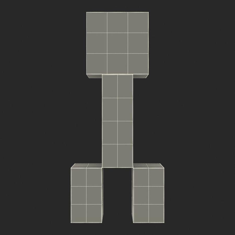 Minecraft Creeper Modello 3D $19 -  c4d  max  ma  obj  fbx