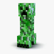 Minecraft Creeper 3d model