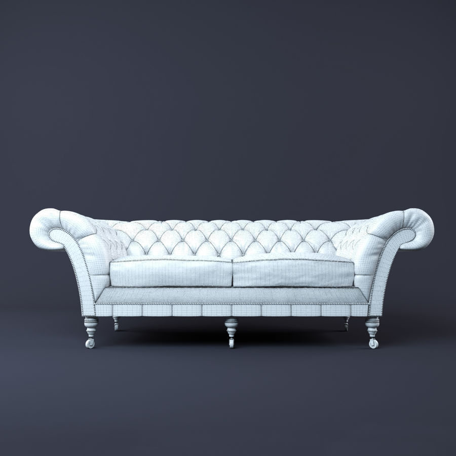 Chesterfield sofa 3d model 15 fbx obj max free3d for Divan furniture models