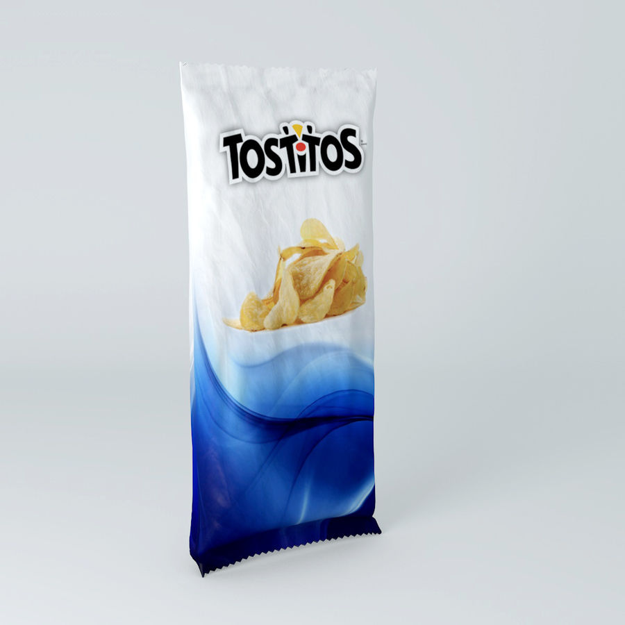 Food packaging royalty-free 3d model - Preview no. 1