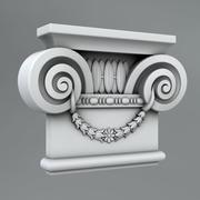 Pilaster Capitals 6 3d model