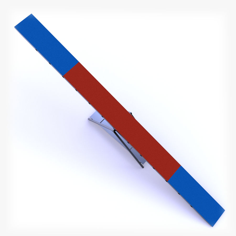 Seesaw royalty-free 3d model - Preview no. 2
