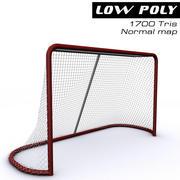 Hockey Goal 3d model