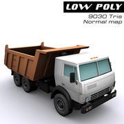 自卸车 3d model