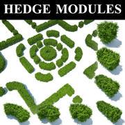 hedge modules 3d model