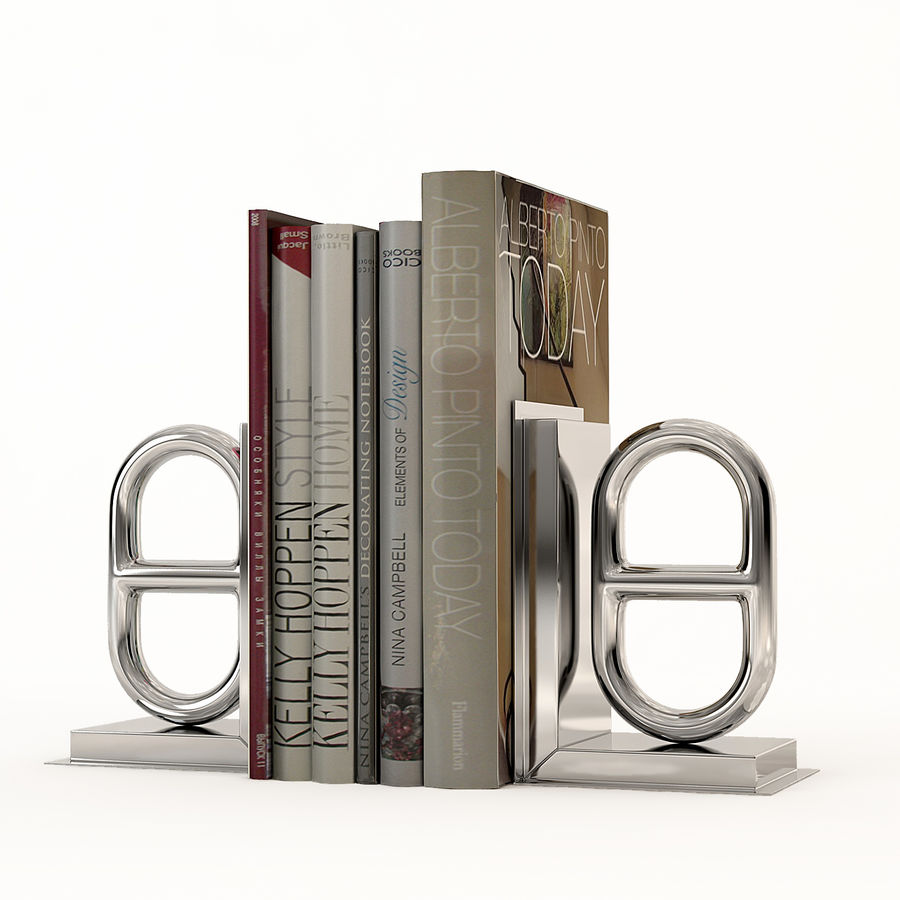 Eichholtz Bookend Nevis royalty-free 3d model - Preview no. 1