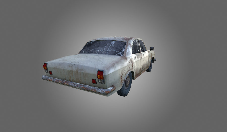 Volga Low-Poly royalty-free 3d model - Preview no. 5