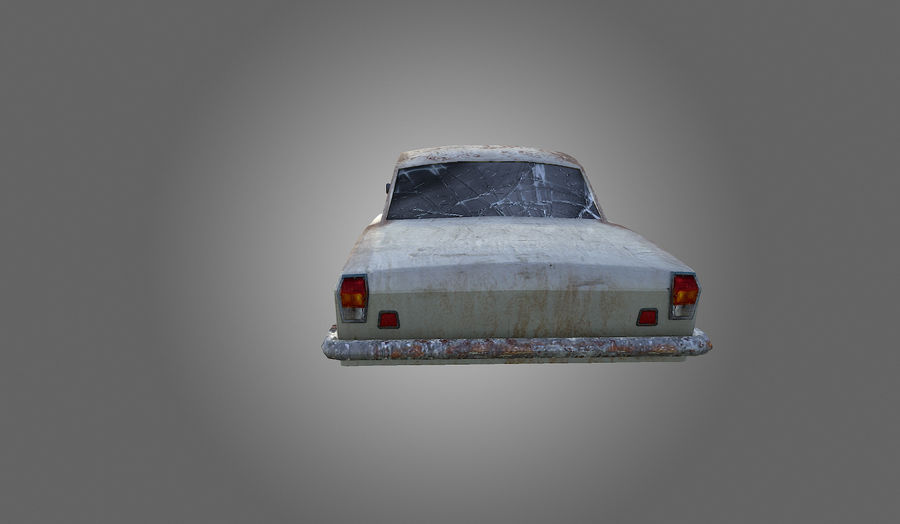 Volga Low-Poly royalty-free 3d model - Preview no. 6