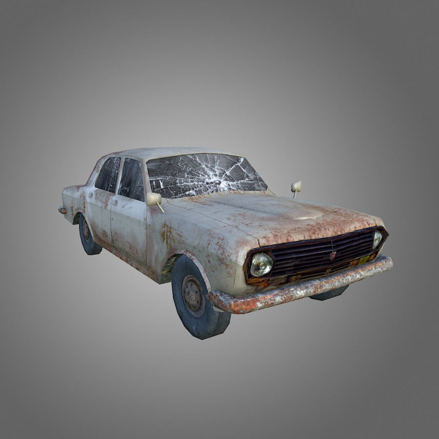 Volga Low-Poly royalty-free 3d model - Preview no. 1