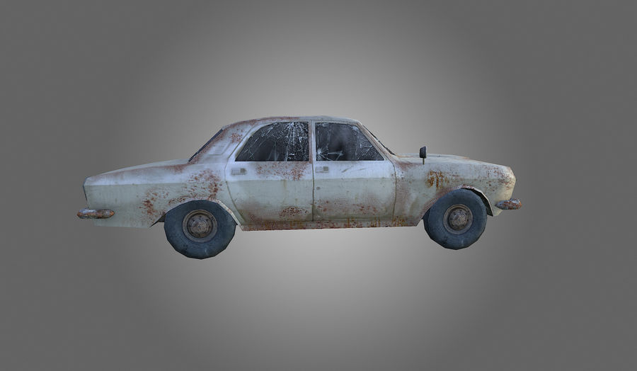 Volga Low-Poly royalty-free 3d model - Preview no. 4