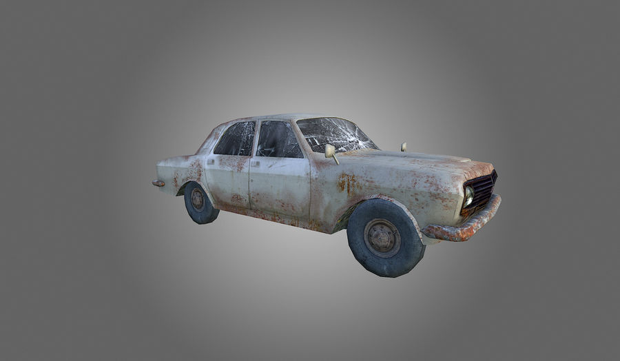 Volga Low-Poly royalty-free 3d model - Preview no. 3