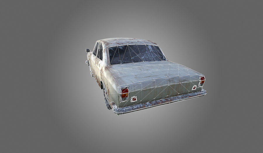Volga Low-Poly royalty-free 3d model - Preview no. 9