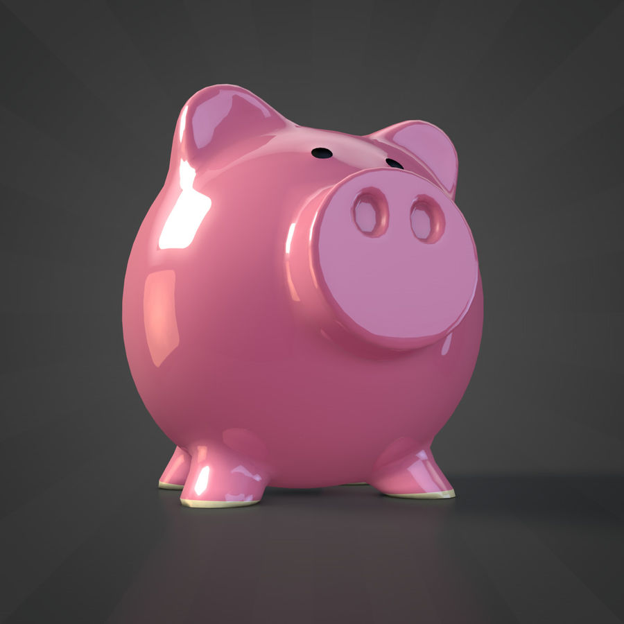 Копилка royalty-free 3d model - Preview no. 1