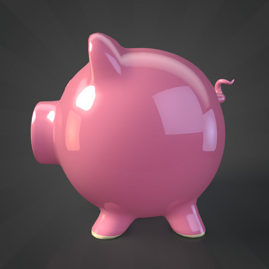 Копилка royalty-free 3d model - Preview no. 5