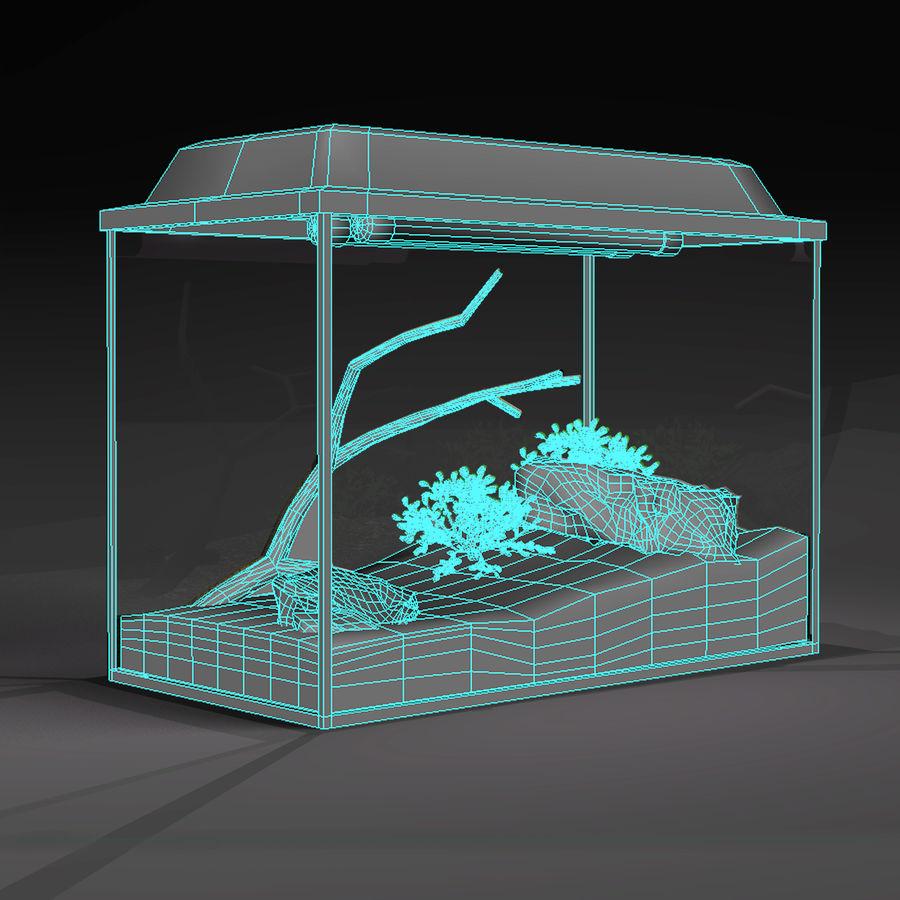 水族馆 royalty-free 3d model - Preview no. 4