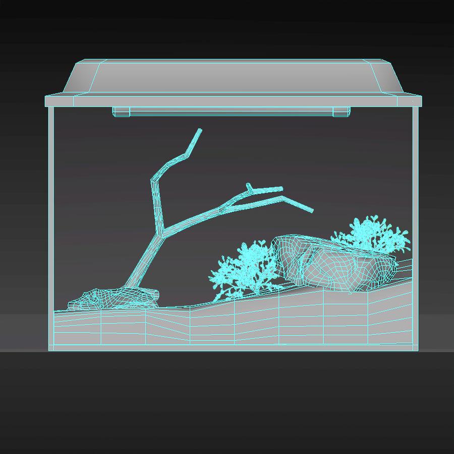 水族馆 royalty-free 3d model - Preview no. 6