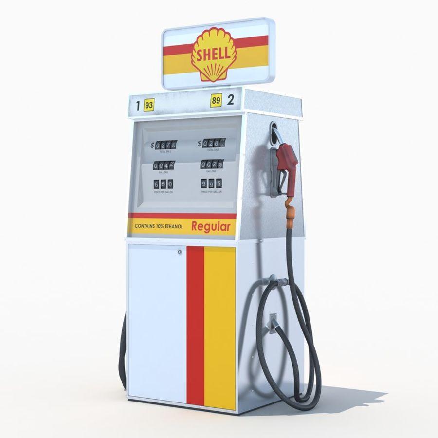 Shell fuel dispenser 3D Model $12 -  max  tgo  obj  fbx - Free3D