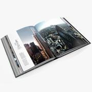 Open book_001 3d model