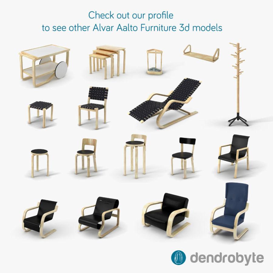 Fantastic Alvar Aalto 43 Lounge Chair 3D Model 22 Max Obj Ma Pabps2019 Chair Design Images Pabps2019Com