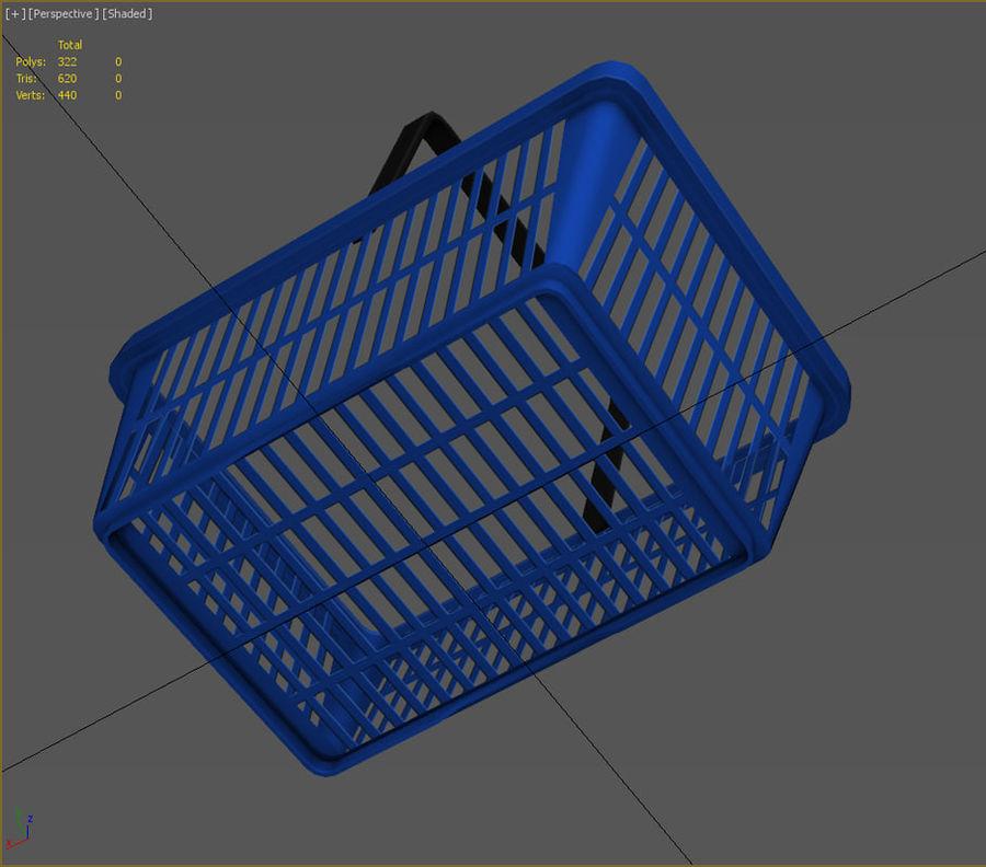 Basket royalty-free 3d model - Preview no. 4