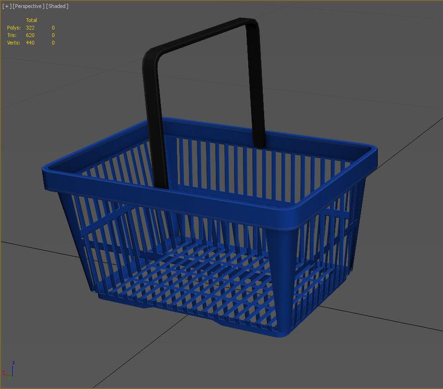 Basket royalty-free 3d model - Preview no. 2