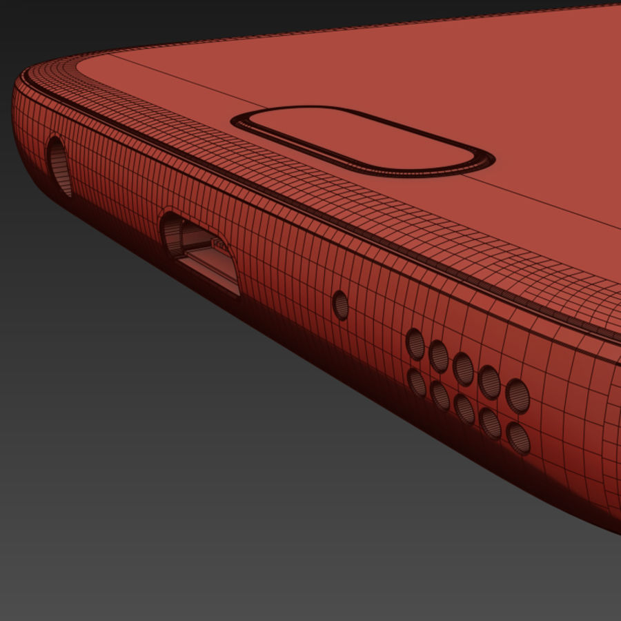 Samsung Galaxy S7 royalty-free 3d model - Preview no. 19