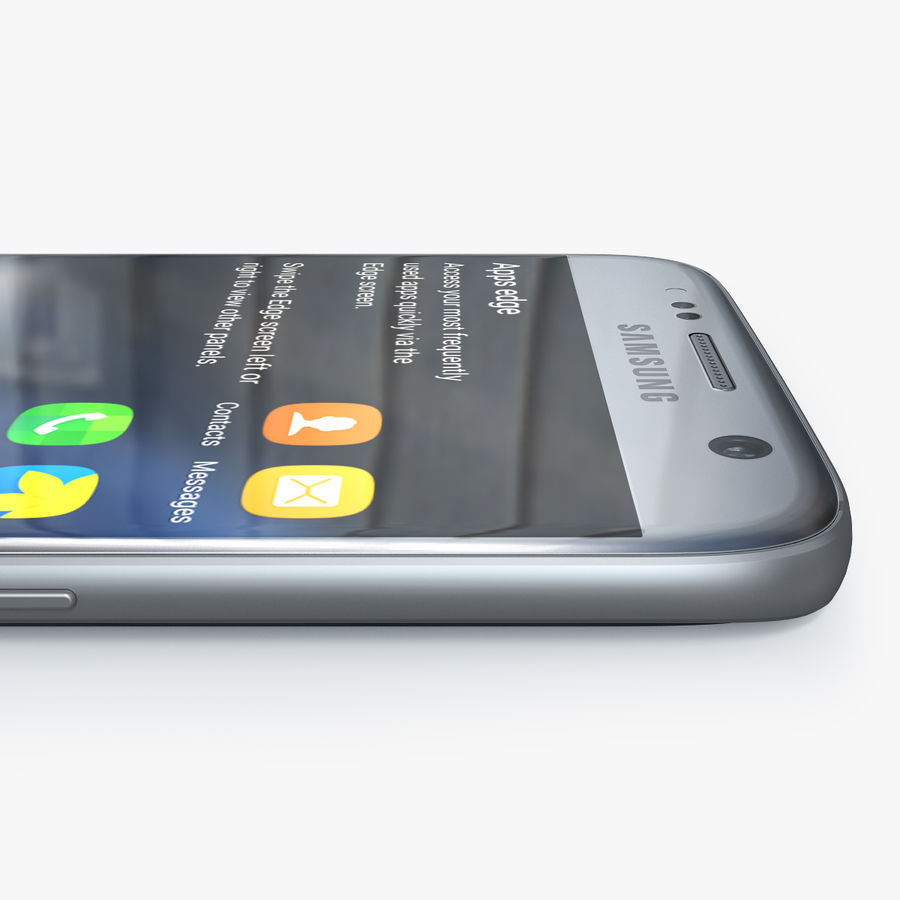 Samsung Galaxy S7 royalty-free 3d model - Preview no. 6