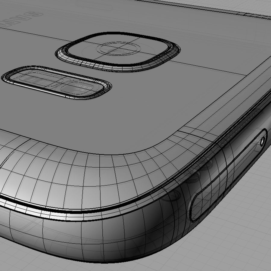 Samsung Galaxy S7 royalty-free 3d model - Preview no. 17