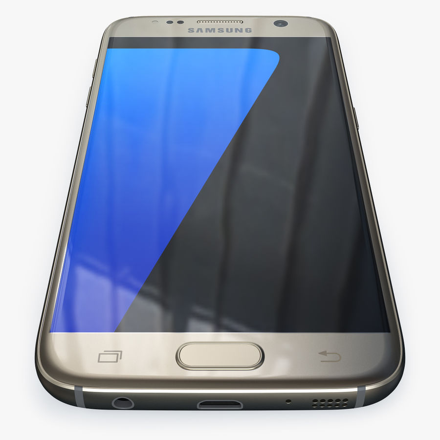Samsung Galaxy S7 royalty-free 3d model - Preview no. 10