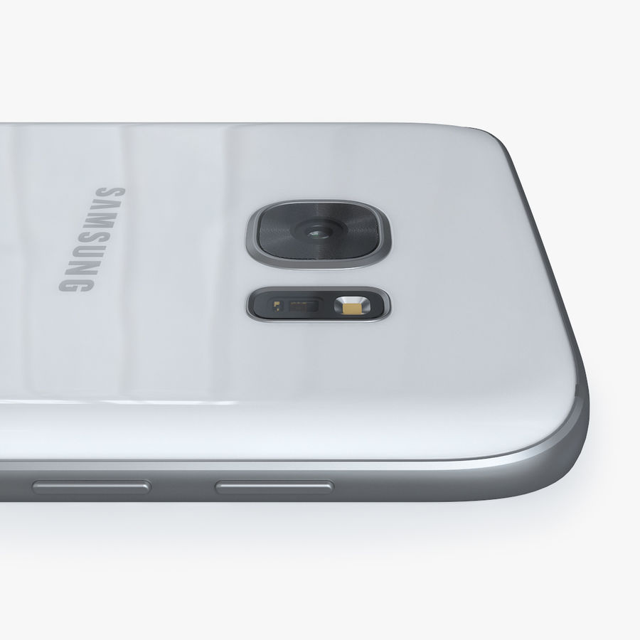 Samsung Galaxy S7 royalty-free 3d model - Preview no. 7
