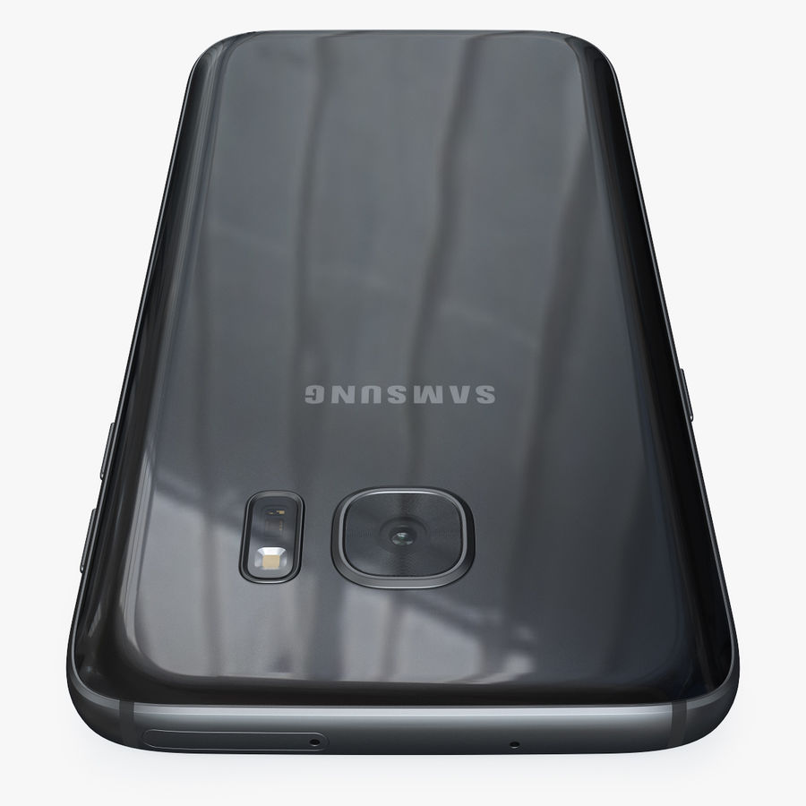 Samsung Galaxy S7 royalty-free 3d model - Preview no. 12
