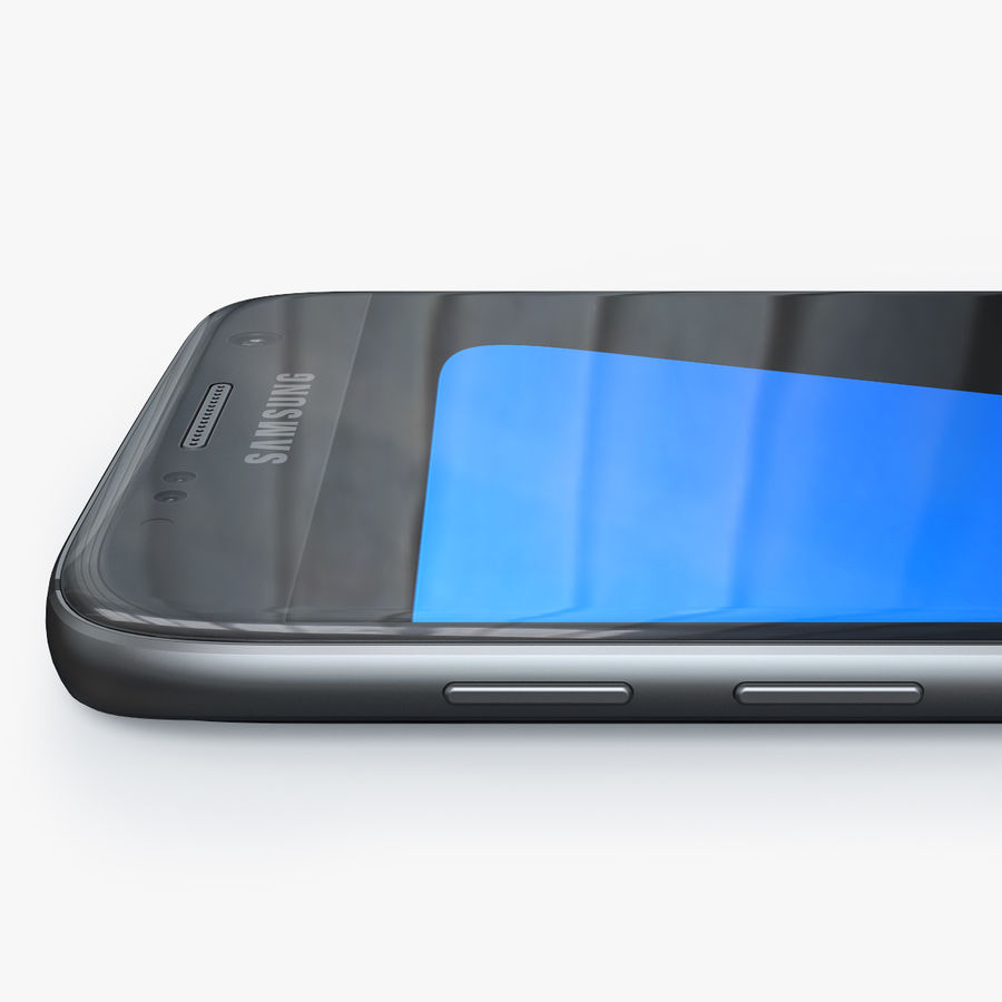 Samsung Galaxy S7 royalty-free 3d model - Preview no. 5