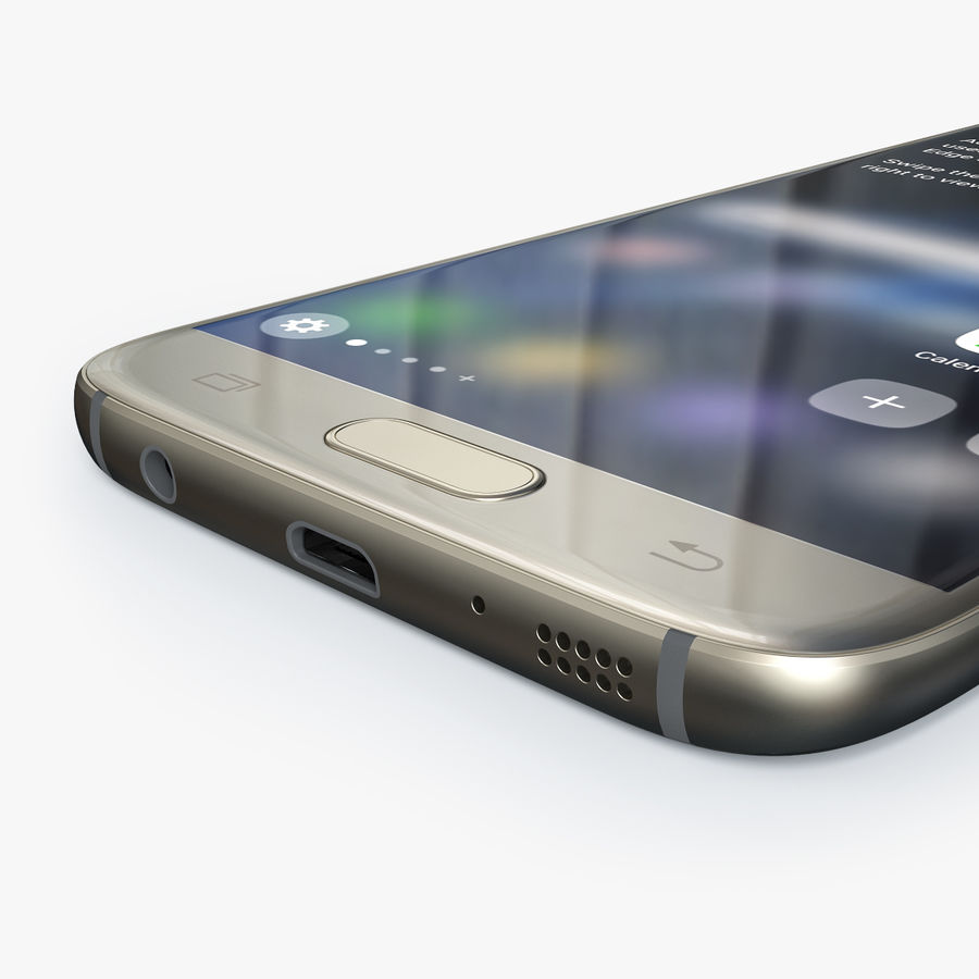 Samsung Galaxy S7 royalty-free 3d model - Preview no. 2