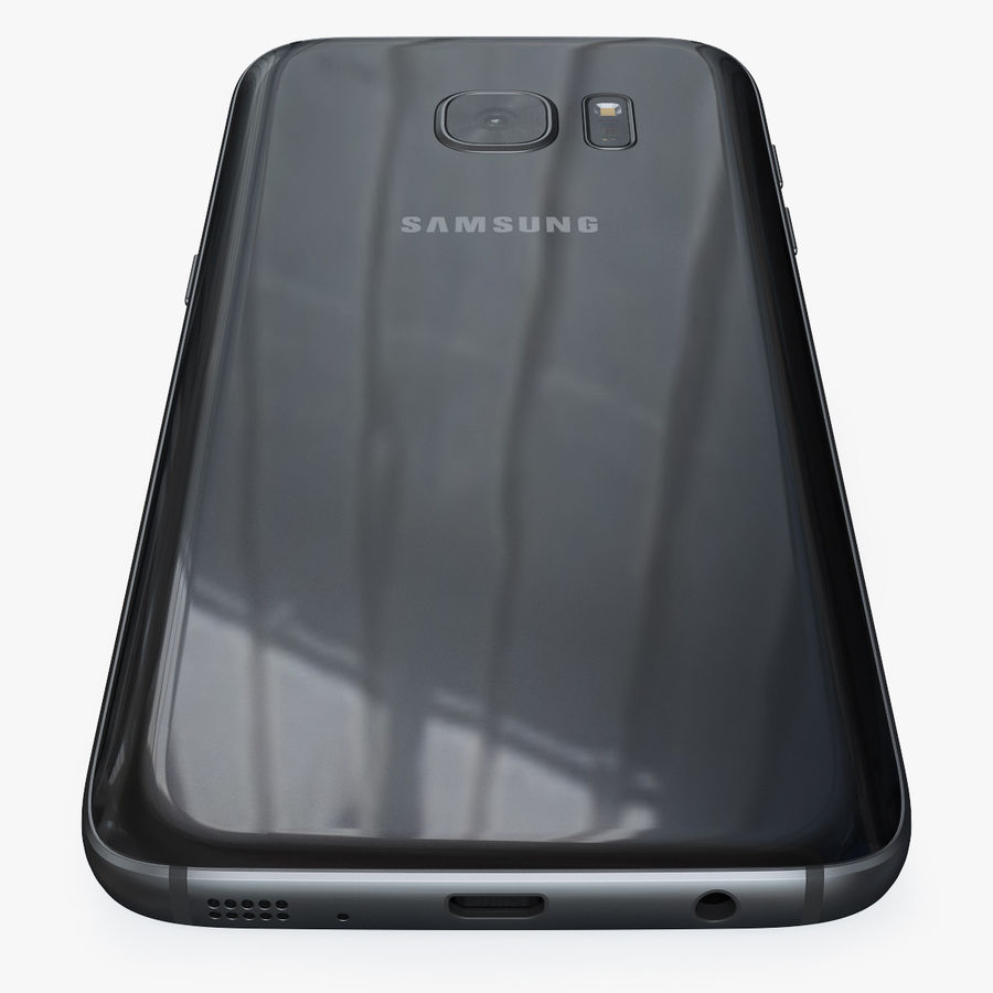 Samsung Galaxy S7 royalty-free 3d model - Preview no. 13