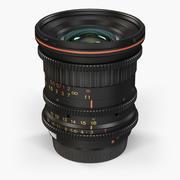 Tokina Cinema ATX 11-16mm T3 Canon EF Lens 3d model