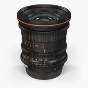 Tokina Cinema ATX 11-16mm T3 Canon EF Lens 3d model