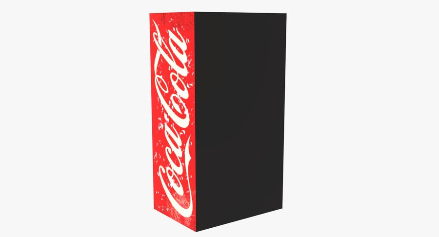 Distributore automatico di Cola Low Poly royalty-free 3d model - Preview no. 4