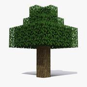 Minecraft Tree 3d model