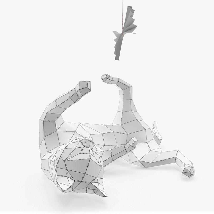 Cat Paper 3d Model 10 Oth Obj Fbx Max Free3d Origami Diagram Royalty Free Preview No 7