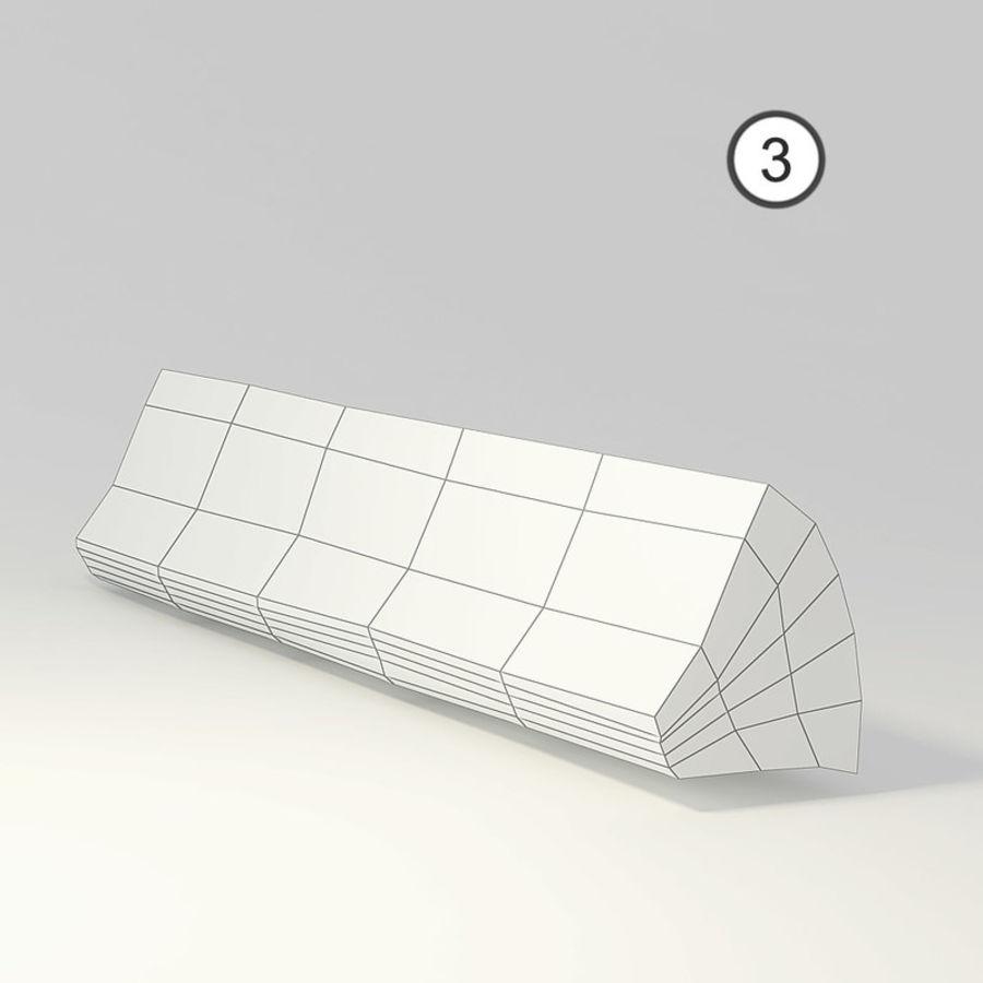 conjunto de toras de madeira royalty-free 3d model - Preview no. 10