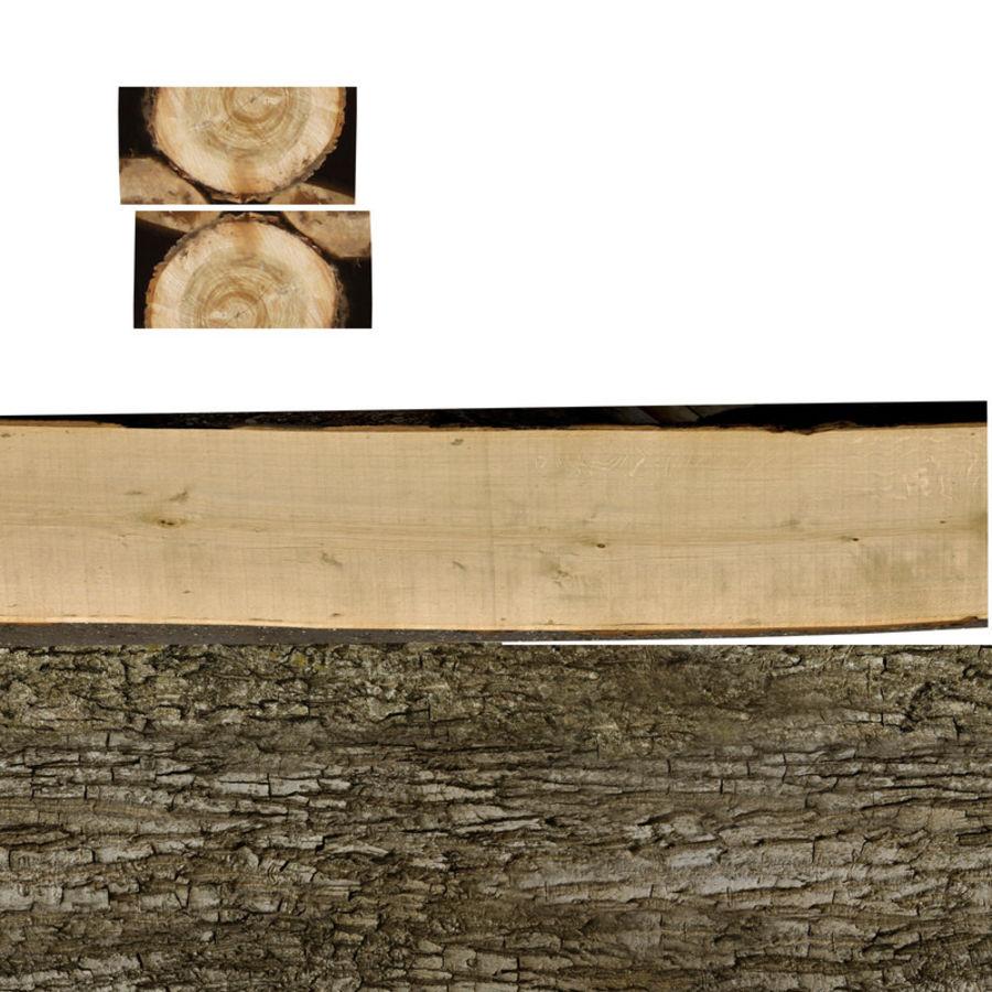 conjunto de toras de madeira royalty-free 3d model - Preview no. 34