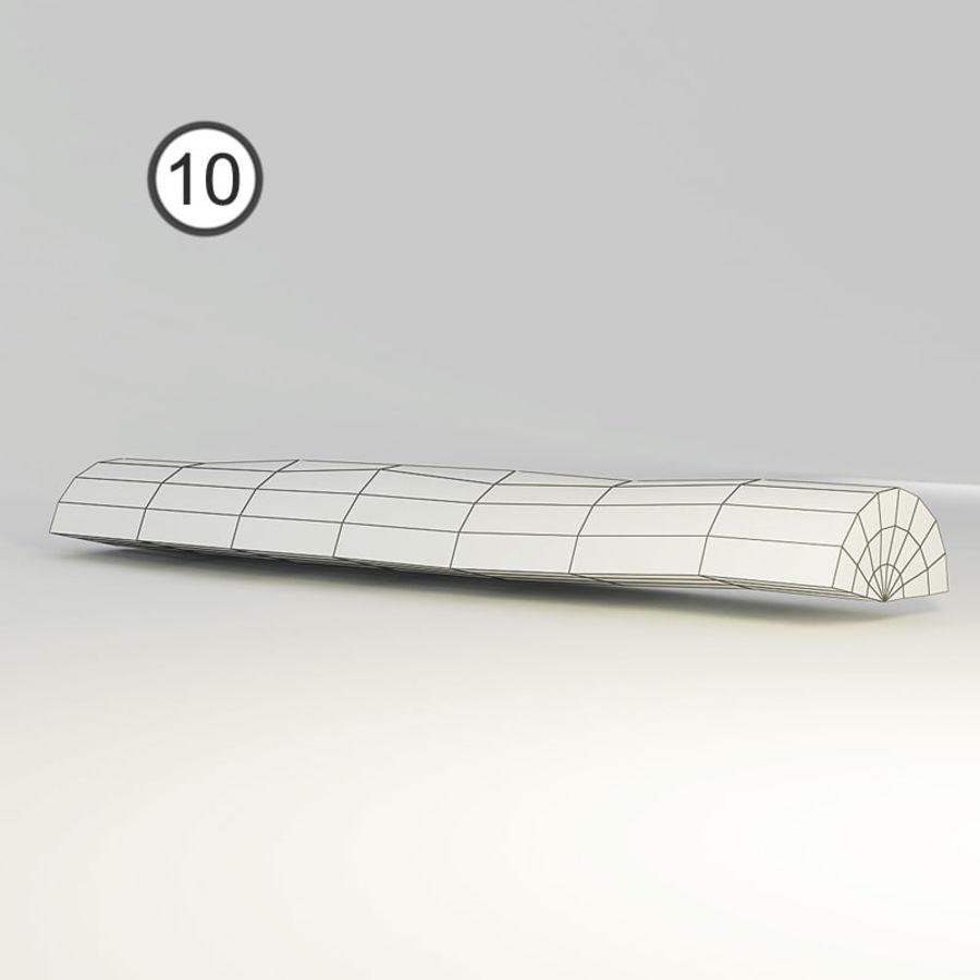 conjunto de toras de madeira royalty-free 3d model - Preview no. 24