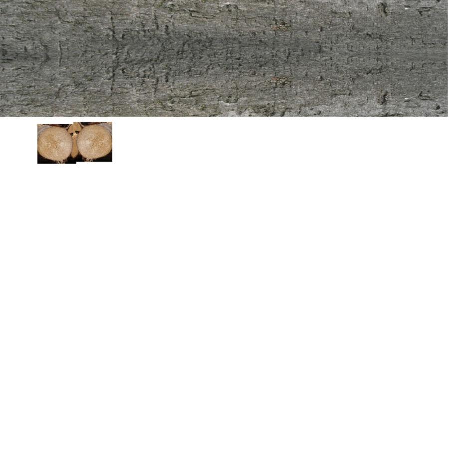 conjunto de toras de madeira royalty-free 3d model - Preview no. 32