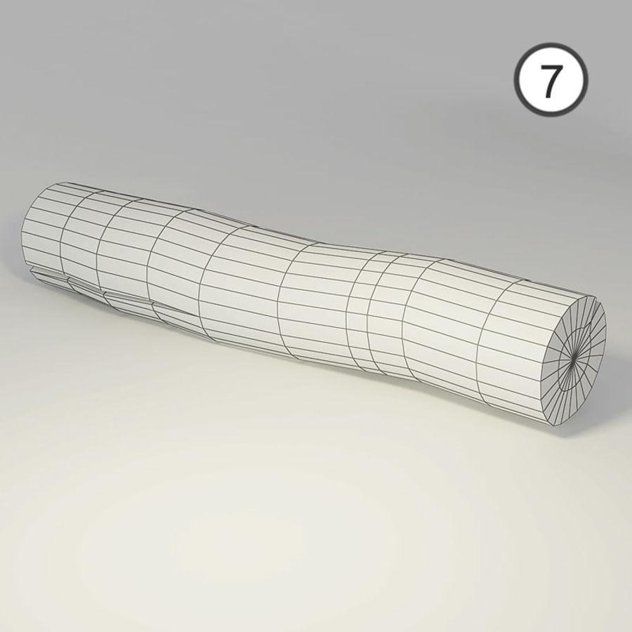 conjunto de toras de madeira royalty-free 3d model - Preview no. 18