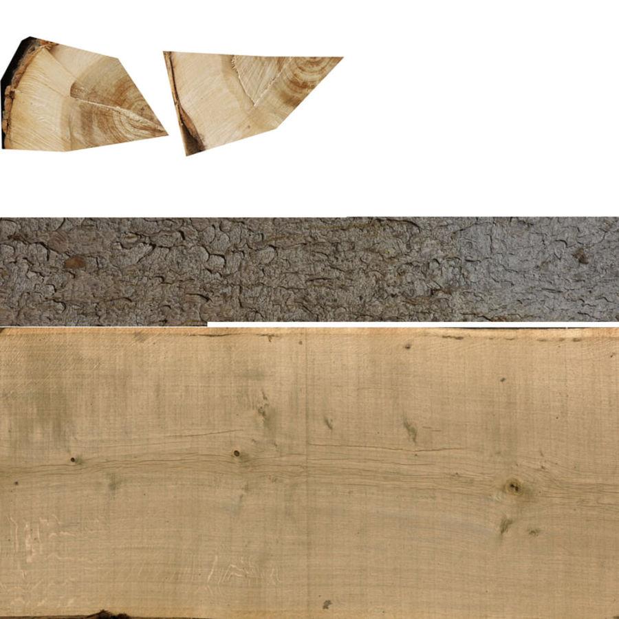 conjunto de toras de madeira royalty-free 3d model - Preview no. 33