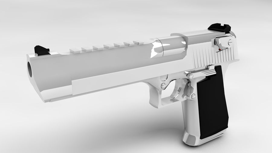 Desert Eagle royalty-free 3d model - Preview no. 1
