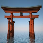 Torii Gateway 3d model