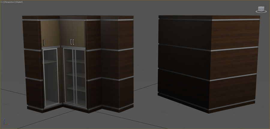 Office Furniture Collection royalty-free 3d model - Preview no. 25